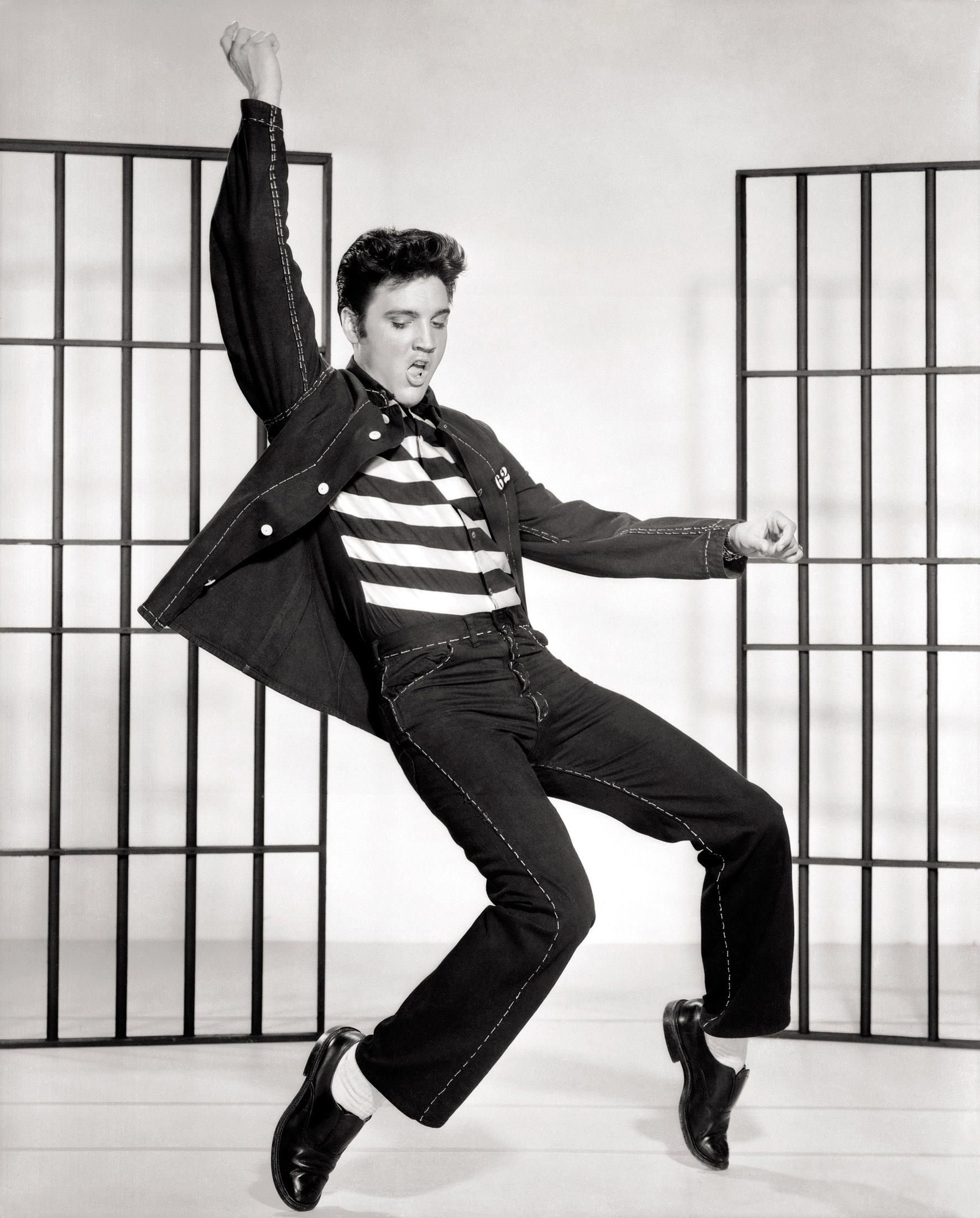 What Makes Elvis Presley A Hero Elvis Jailhouse Rock