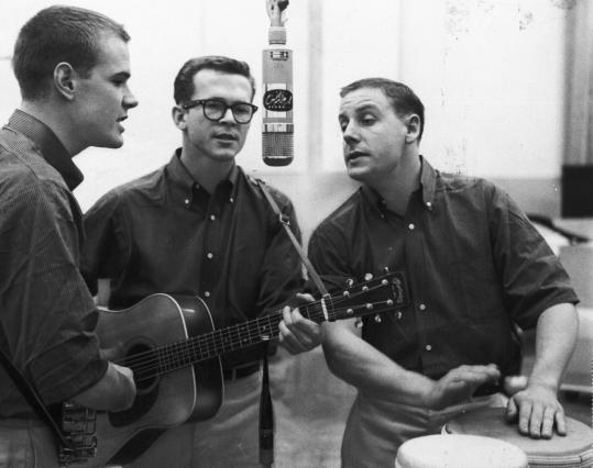 Kingston Trio studio