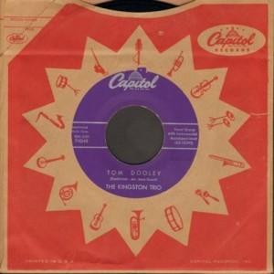 Kingston Trio - Tom-Dooley Capitol 45
