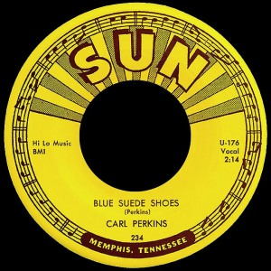 Carl Perkins blue suede