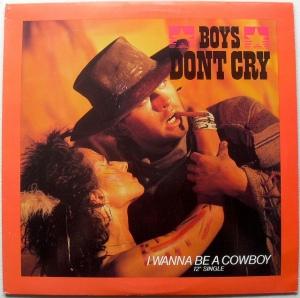 boys don't cry cowboy 12inch single