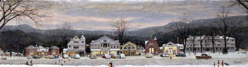 norman rockwell MainStreet