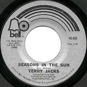 terry jacks seasons in the sun single