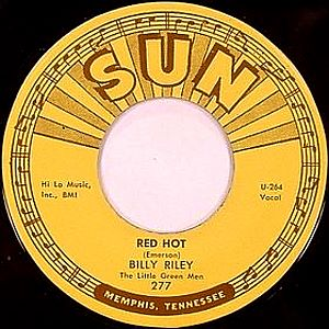 Billy Lee Riley - Red Hot (single)