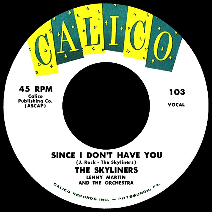 "Song Of The Week: ""Since I Don't Have You"" by The Skyliners"